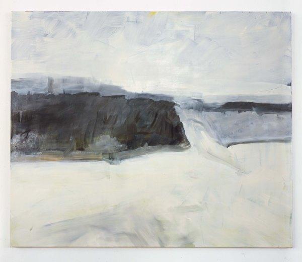 54° 40′ 35″ N, 13° 26′ 16″ O (Am Kap), particolare1, 100x120, olio su tela, 2012