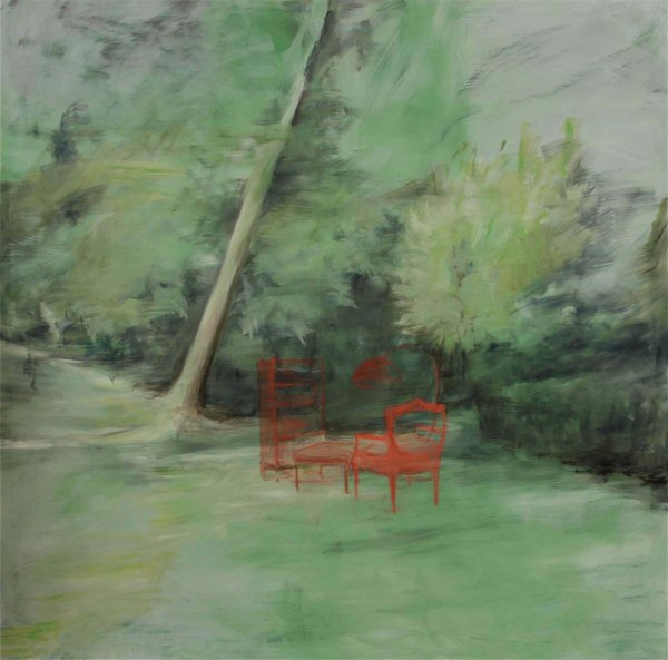 Restless Home, oil on canvas, 200 x 200 cm, 2011