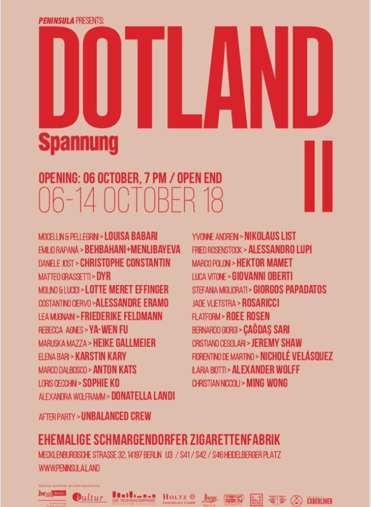 Dotland II - Lista artisti
